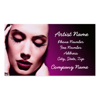 makeup pack of standard business cards