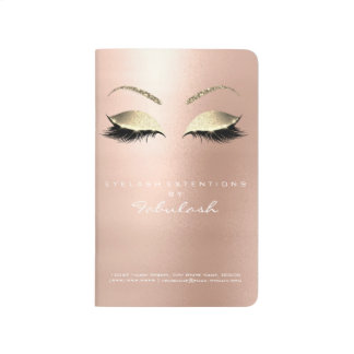 Makeup Stylist Branding Beauty Salon White Gold Journal