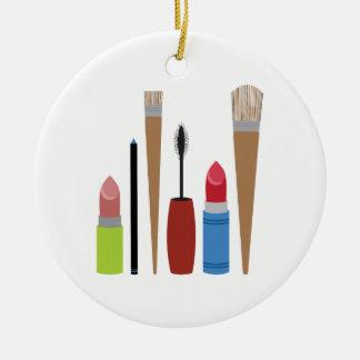 Makeup Tools Round Ceramic Decoration