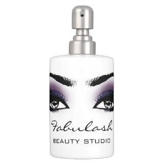Makeup Violet Eye Lashes Beauty Studio Makeup Bathroom Set