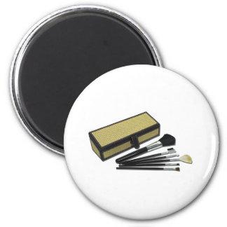 MakeupBrushesWickerBox110511 6 Cm Round Magnet