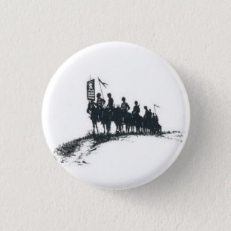 Makhno's Anarchist Army 3 Cm Round Badge