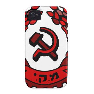 Maki Rakah Israel communist party coat of arms ham Case-Mate iPhone 4 Cases
