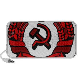 Maki Rakah Israel communist party coat of arms ham Portable Speakers