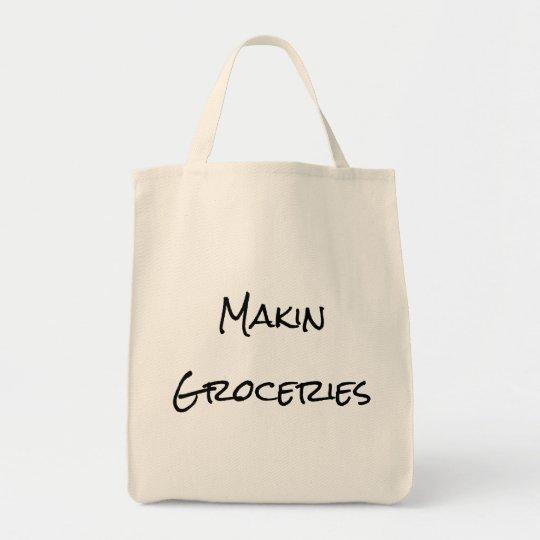 Makin Groceries Shopping Bag