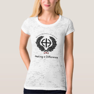 Making a Difference Womens T-shirt