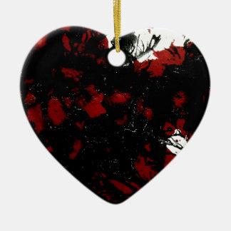 Making a Mess.jpg Ceramic Heart Decoration