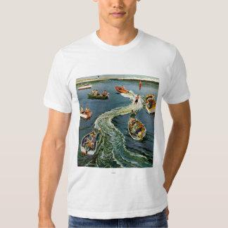 Making A Wake by Ben Kimberly Pins Shirt
