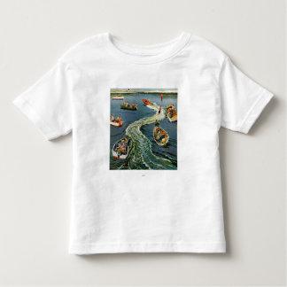 Making A Wake by Ben Kimberly Pins Toddler T-Shirt