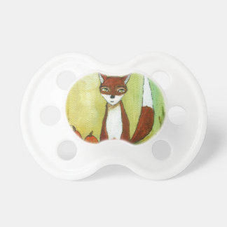 Making Choices Woodland Fox Art Painting Dummy