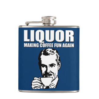 MAKING COFFEE FUN AGAIN HIP FLASK