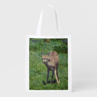 Making Face Reusable Grocery Bag