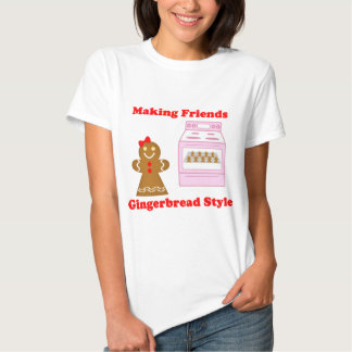 Making Friends Gingerbread Style Tee Shirts