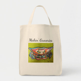 Making Groceries Crab Bag