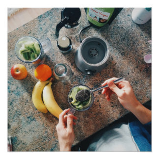 Making Healthy Smoothie