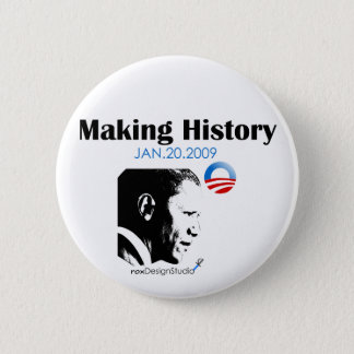Making History 6 Cm Round Badge