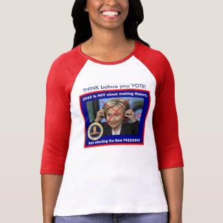 Making History Hillary? Tees