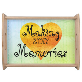 MAKING_MEMORIES-Wood_Template_-Wainscoting-Gold Serving Tray