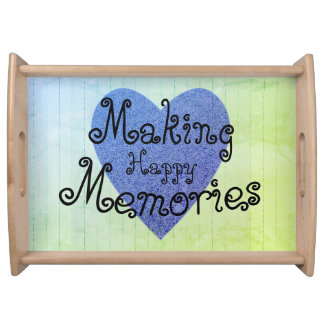 MAKING_MEMORIES-Wood_Template_-Wainscoting-HAPPY- Serving Tray