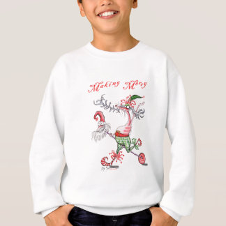 making merry sweatshirt