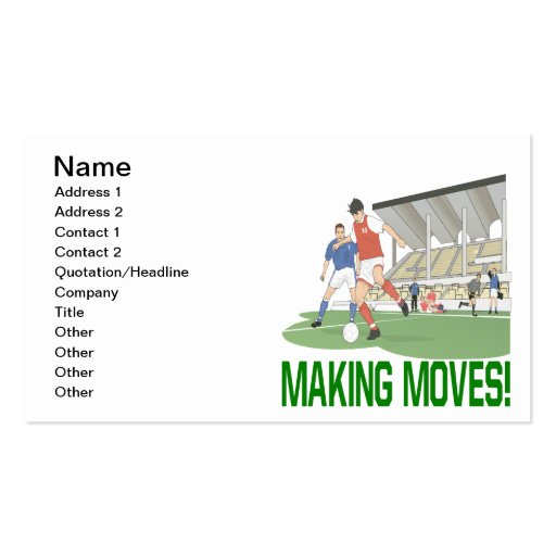 Making Moves Business Card