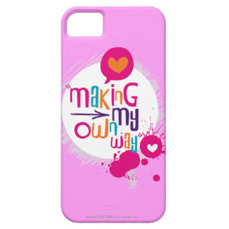 Making My Own Way iPhone 5 Cover