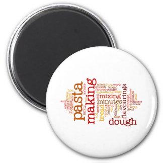 Making Pasta Fridge Magnet