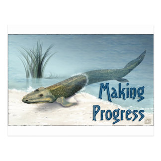 Making Progress Postcard