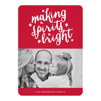 Making Spirits Bright Card