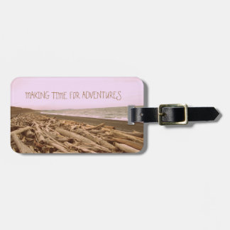Making Time For Adventures Bag Tag