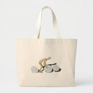 MakingSnowmanOnePiece101115.png Jumbo Tote Bag