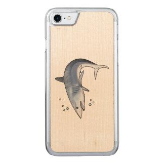 Mako Shark Carved iPhone 8/7 Case
