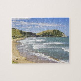Makorori Beach near Gisborne, Eastland, New 2 Jigsaw Puzzles