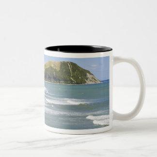 Makorori Beach near Gisborne, Eastland, New 2 Two-Tone Coffee Mug
