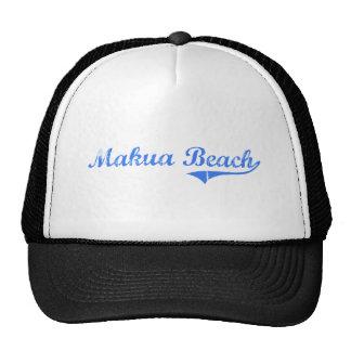 Makua Beach Hawaii Classic Design Mesh Hats