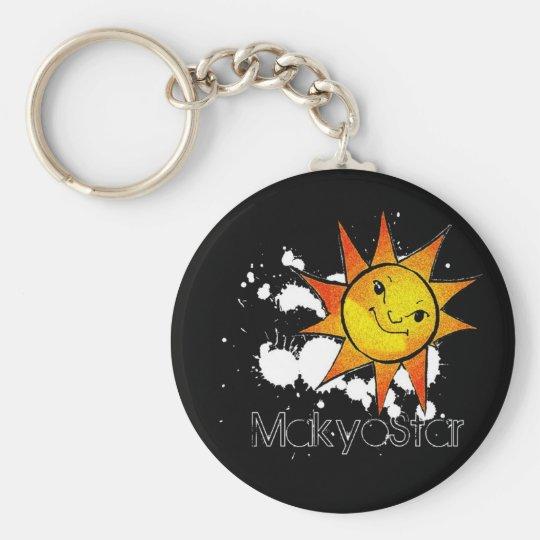 Makyo Star Sun Keychain
