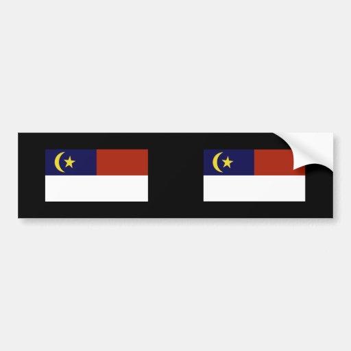 Malacca, Malaysia Bumper Sticker