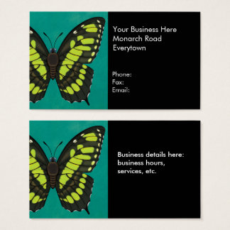 Malachite Butterfly Business Card