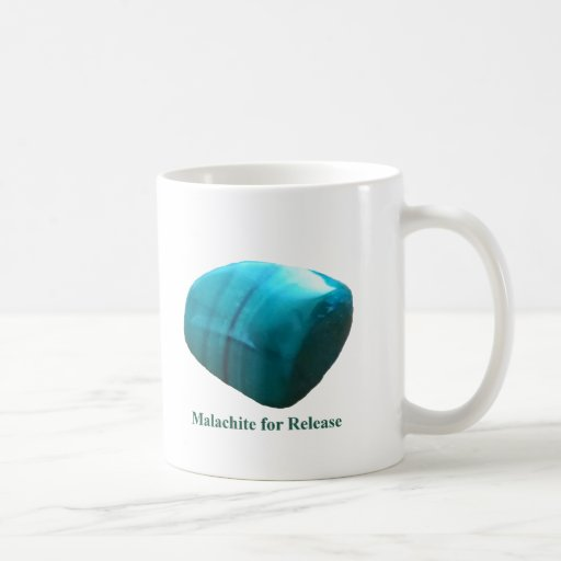 Malachite for Release Mug by IreneDesign2011