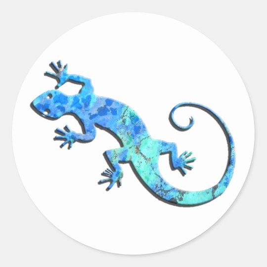 Malachite Gecko Stickers
