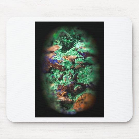 Malachite Lapis Azurite Gems Gemmology Rock Mouse Mat