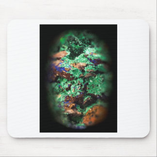 Malachite Lapis Azurite Gems Gemology Rock Mouse Mat