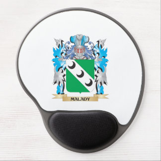Malady Coat of Arms - Family Crest Gel Mouse Pad