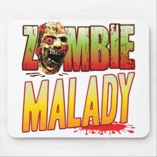Malady Zombie Head Mouse Pad