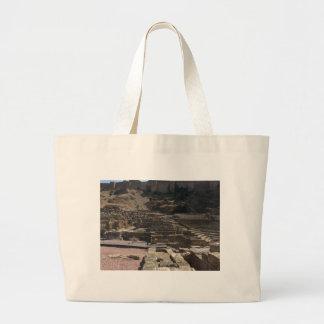 Malaga; amphitheater large tote bag
