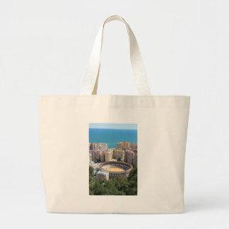Malaga bullring canvas bags