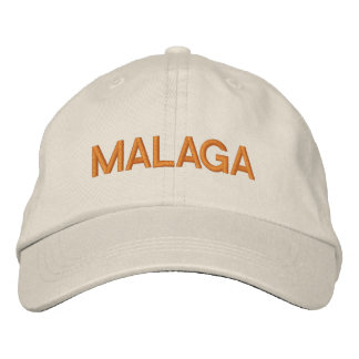Malaga Cap Embroidered Hat
