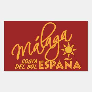 Málaga España custom stickers