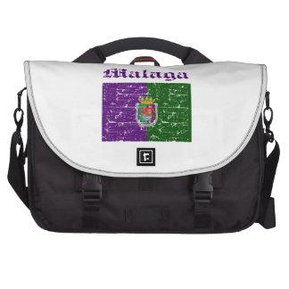 malaga Italy flag designs Laptop Commuter Bag