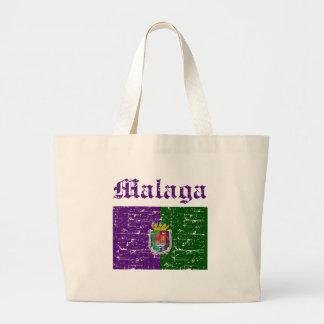 malaga Italy flag designs Tote Bags